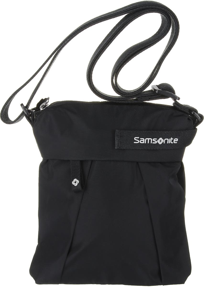 Сумка женская Samsonite, цвет: черный. 51V-0900451V-09004Женская сумка Samsonite изготовлена из полиэстера. Изделие содержит одно основное отделение, закрывающееся на застежку-молнию. Внутри отделения расположен врезной карман на молнии. Лицевая сторона сумки дополнена вместительным карманом на молнии. На задней стороне изделия расположен карман на застежке-липучке. Сумка оснащена наплечным ремнем регулируемой длины.