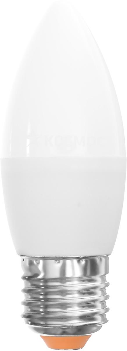 Светодиодная лампа Kosmos, теплый свет, цоколь E27, 7W, 220V. Lksm_LED7wCNE2730Lksm_LED7wCNE2730Светодиодная лампа Kosmos инновационный и экологичный продукт, специально разработанный для эффективной замены любых видов галогенных или обыкновенных ламп накаливания во всех типах осветительных приборов. Основные преимущества лампы Kosmos: Служит 30000 часов, что в 30 раз дольше лампы накаливания. Экономична - сберегает до 90% электроэнергии. Обладает высокой механической прочностью и вибростойкостью. Устойчива к перепадам температуры (от -40°С до +50°С). Уважаемые клиенты! Обращаем ваше внимание на возможные изменения в дизайне упаковки. Качественные характеристики товара остаются неизменными. Поставка осуществляется в зависимости от наличия на складе.