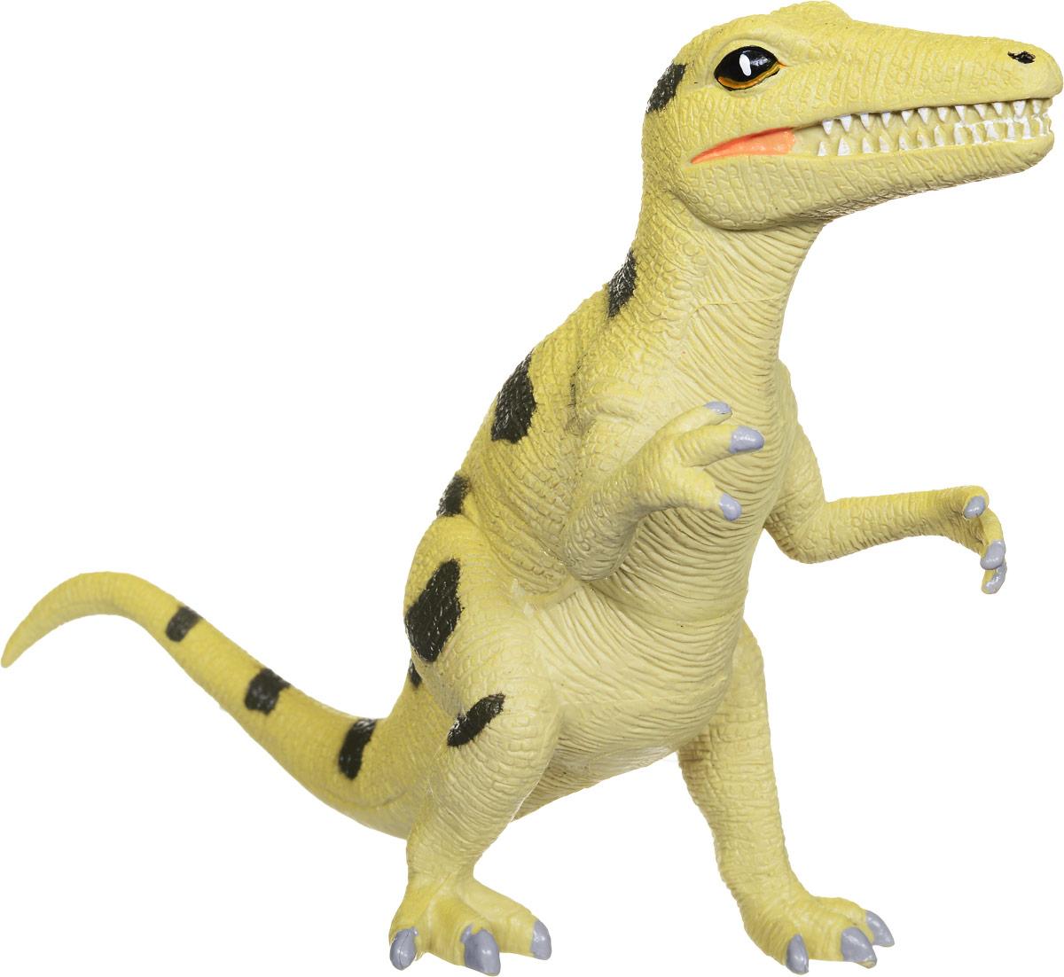 Играем вместе Фигурка Динозавр цвет желтый222-Фигурка Играем вместе Динозавр очень реалистично выглядит. С такой игрушкой маленький натуралист сможет полностью погрузиться в атмосферу древней эры динозавров. Коллекция игрушек Рассказы о животных создана специально для маленьких любителей животных, она рассказывает и показывает различных обитателей нашей планеты, в том числе и тех, кто жил много миллионов лет назад, как этот динозавр.