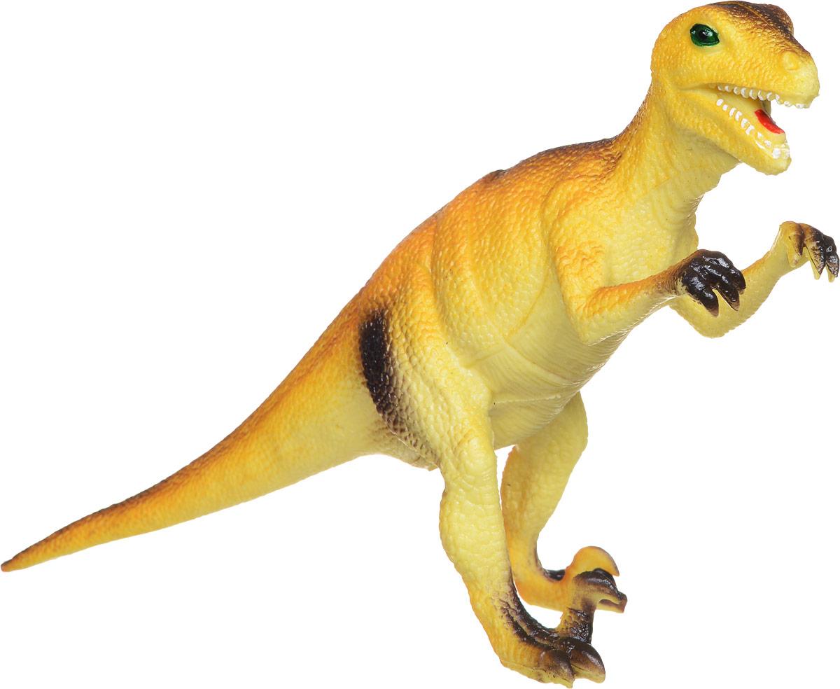 Играем вместе Фигурка Динозавр цвет светло-коричневый90RФигурка Играем вместе Динозавр очень реалистично выглядит. К тому же, фигурка еще и озвучена, при нажатии на живот, она издает звук. С такой игрушкой маленький натуралист сможет полностью погрузиться в атмосферу древней эры динозавров. Коллекция игрушек Рассказы о животных создана специально для маленьких любителей животных, она рассказывает и показывает различных обитателей нашей планеты, в том числе и тех, кто жил много миллионов лет назад, как этот динозавр.