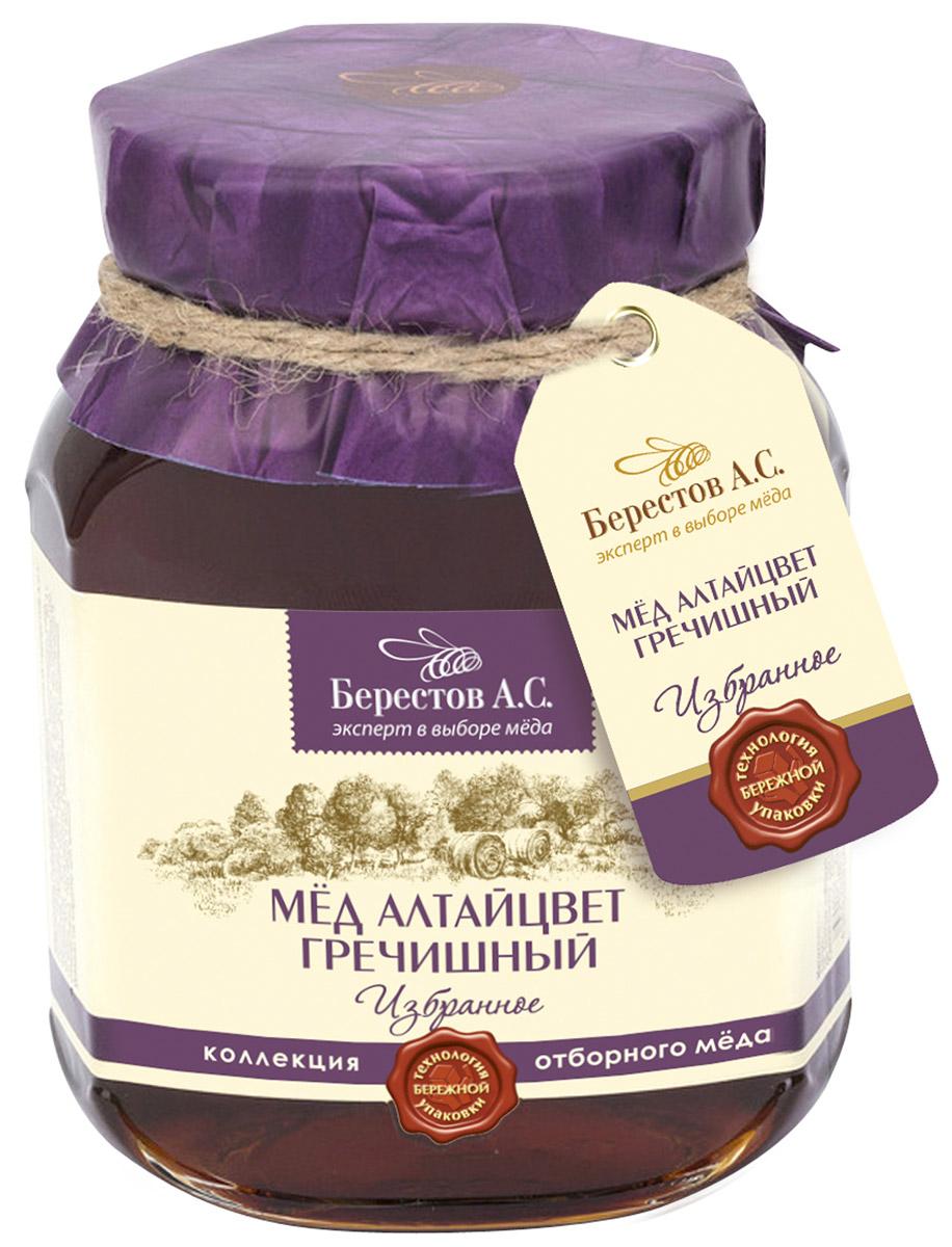 Берестов Мед Гречишный, 500 го0000004603Гречишный мед из коллекции Избранное - Это ароматный, с лёгкой горчинкой мёд, содержащий гораздо больше железа по сравнению с другими сортами, что делает его особенно ценным. Гречишный мед, это роскошный терпкий мёд с легким коньячным послевкусием. Горный воздух Алтая и редчайшие целебные медоносы дарят мёду поистине чарующий букет корицы, грецкого ореха и чернослива с нотками карамели, муската и едва уловимым оттенком тмина. Гречишный мед содержит больше количество белков и минеральных веществ, особенно железа. Рекомендуется при авитаминозах, гипертонии, при кровоизлияниях в мозг и сетчатку глаза. ТОПовая линейка меда Берестов. Это отборный мед контролируемого места происхождения. Каждая банка меда имеет паспорт качества и происхождения. Каждая позиция в составе линейки Избранное обладает наиболее выраженными качественными характеристиками свойственными для данного сорта меда. Мед Берестов Избранное трижды признавался...
