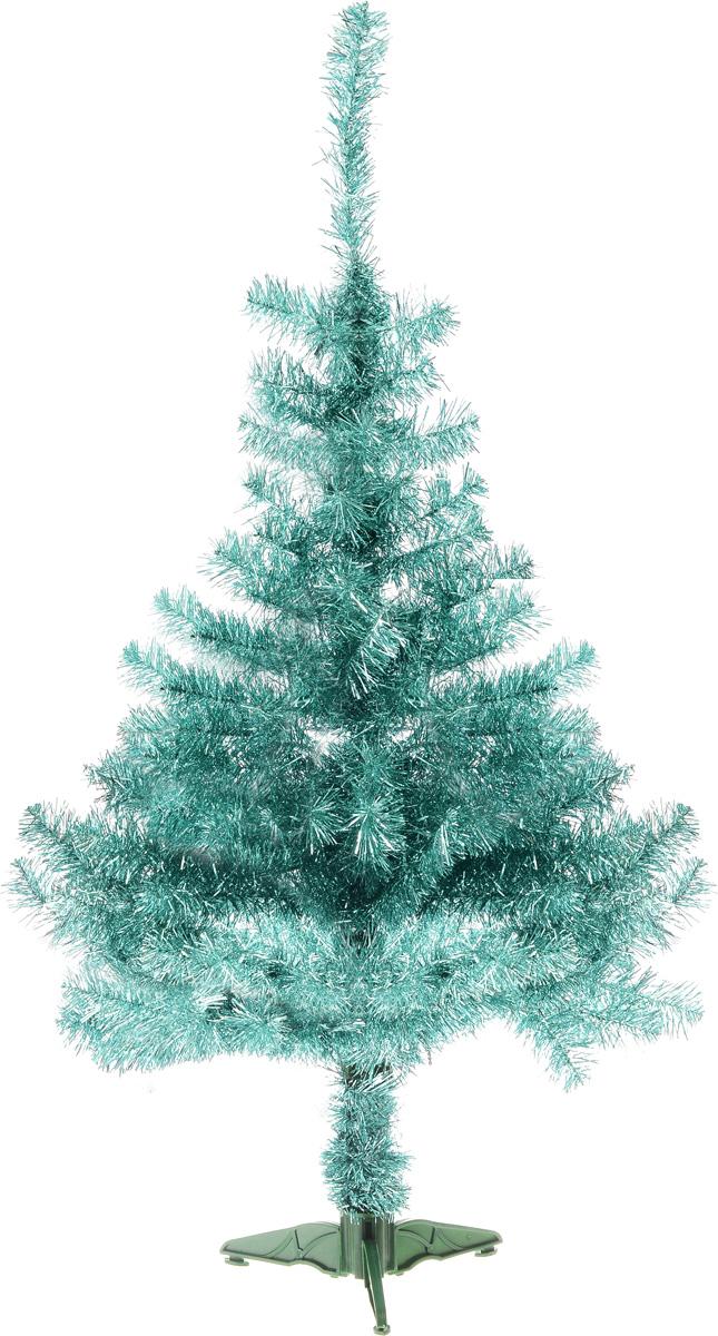 """Ель искусственная Morozco """"Нормандия"""", цвет: серебристый, зеленый, высота 120 см"""