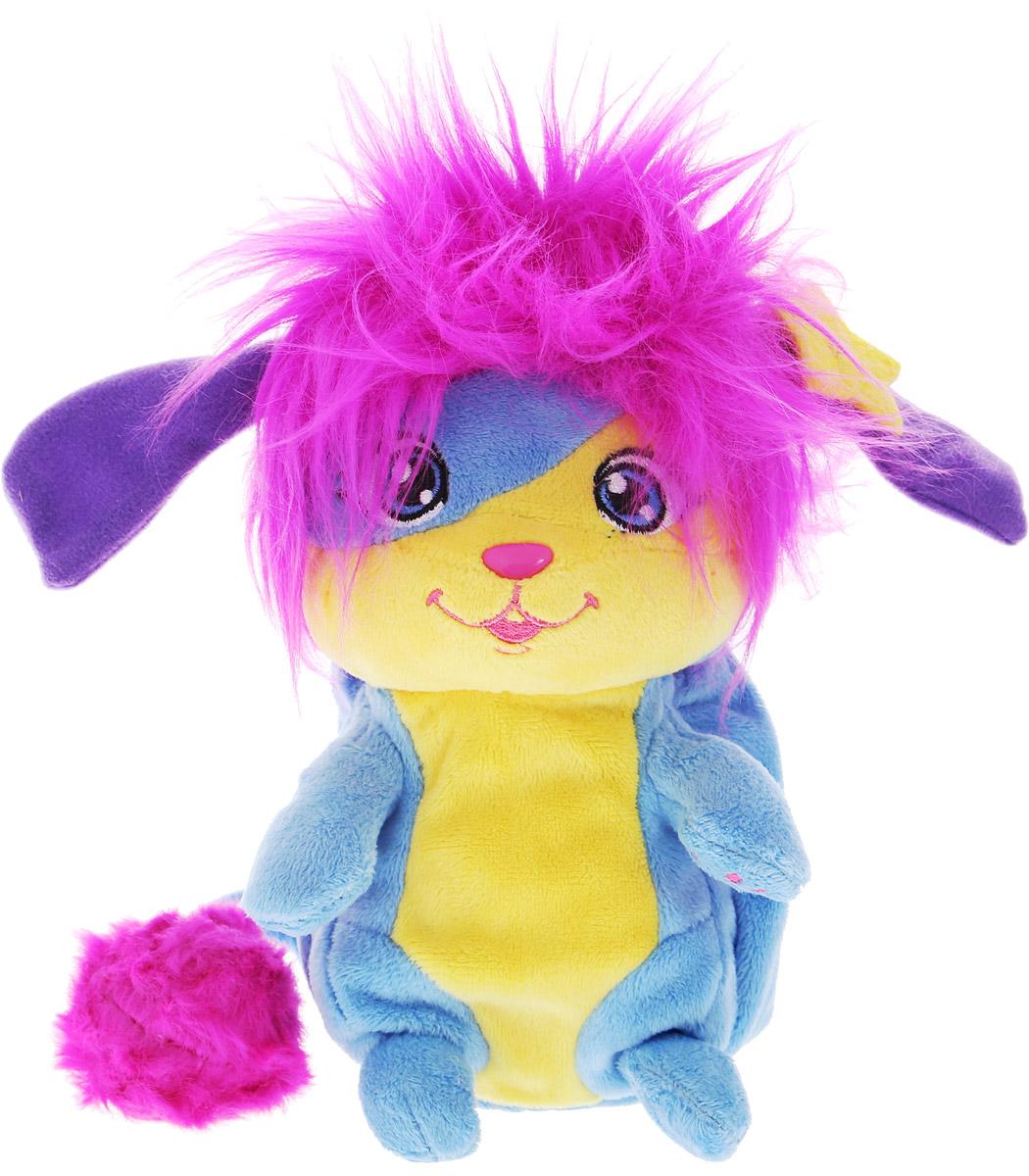 Popples Мягкая игрушка Lulu 20 см56300_фуксия, розовый, звёздыМягкая игрушка Popples Lulu - это замечательный подарок для вашего малыша. Игрушка отличается оригинальным дизайном и качественным исполнением. Она выполнена из безопасных материалов в виде очаровательной зверюшки с длинным хвостиком. Игрушка дополнена сзади специальным карманом, который можно вывернуть. У зверька есть уникальная способность - с помощью этого кармашка он может буквально сворачиваться в клубочек! Очень интересная, яркая и эффектная игрушка. Зверёк станет верным другом для каждого ребенка, подарит множество приятных мгновений и непременно поднимет настроение. Эта милая и забавная игрушка обязательно понравится вашему ребенку.