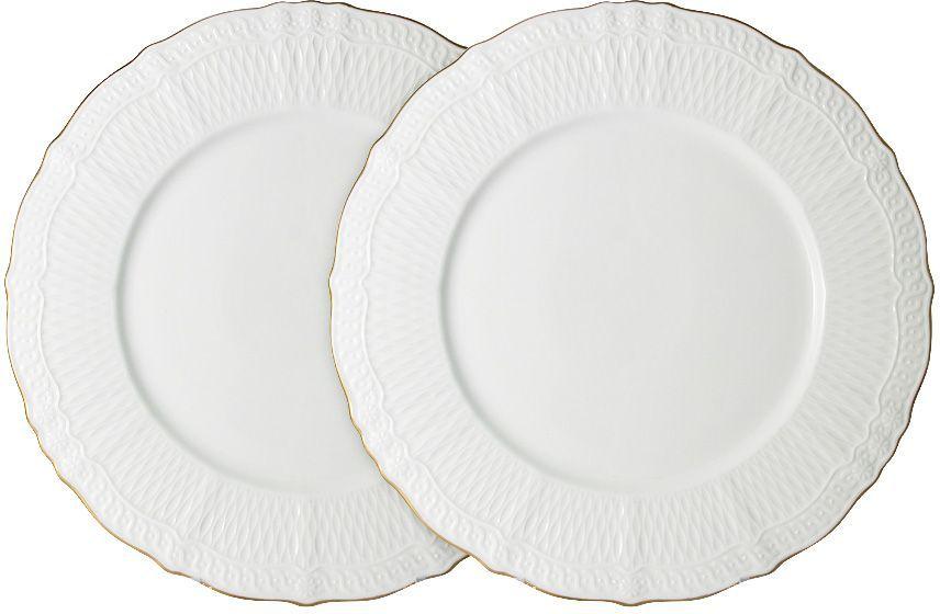 Набор обеденных тарелок Colombo Бьянка, 27 см, 2 шт. C2-DR/2-K4815ALC2-DR/2-K4815ALНабор из 2-х обеденных тарелок 27см Бьянка Посуда для чая и сервировки стола торговой марки Colombo изготовлена из костяного фарфора. Высокое качество изделий достигается благодаря использованию новейших технологий при изготовлении посуды, а также строгому контролю на всех этапах производственного процесса на фабрике. Рекомендуется мыть в теплой воде с применением мягких моющих средств.