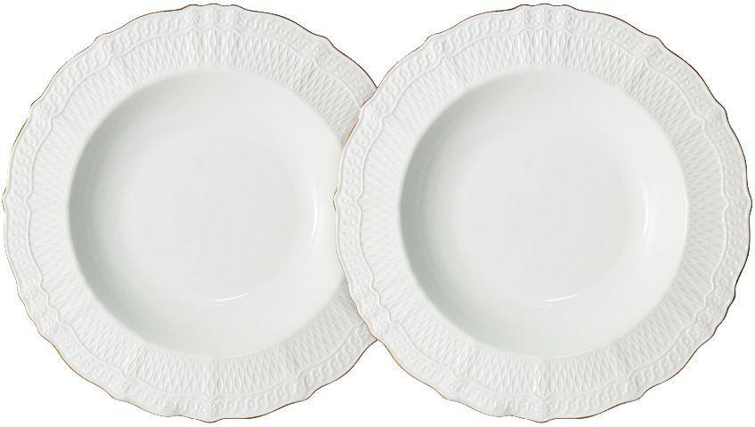 Набор суповых тарелок Colombo Бьянка, 23 см, 2 шт. C2-SP/2-K4815ALC2-SP/2-K4815ALНабор из 2-х суповых тарелок 23см Бьянка Посуда для чая и сервировки стола торговой марки Colombo изготовлена из костяного фарфора. Высокое качество изделий достигается благодаря использованию новейших технологий при изготовлении посуды, а также строгому контролю на всех этапах производственного процесса на фабрике. Рекомендуется мыть в теплой воде с применением мягких моющих средств.