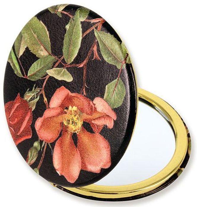 Зеркало карманное Carmani Чайная роза. CAR181-5204-AL