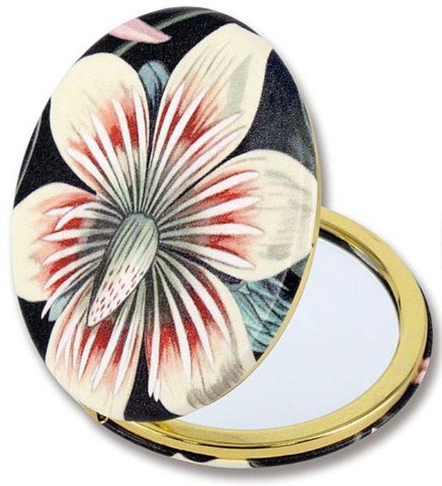 Зеркало карманное Carmani Экзотический цветок. CAR181-5212-AL