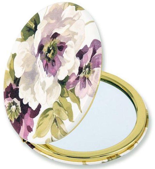 Зеркало карманное Carmani Букет пионов. CAR181-5213-AL