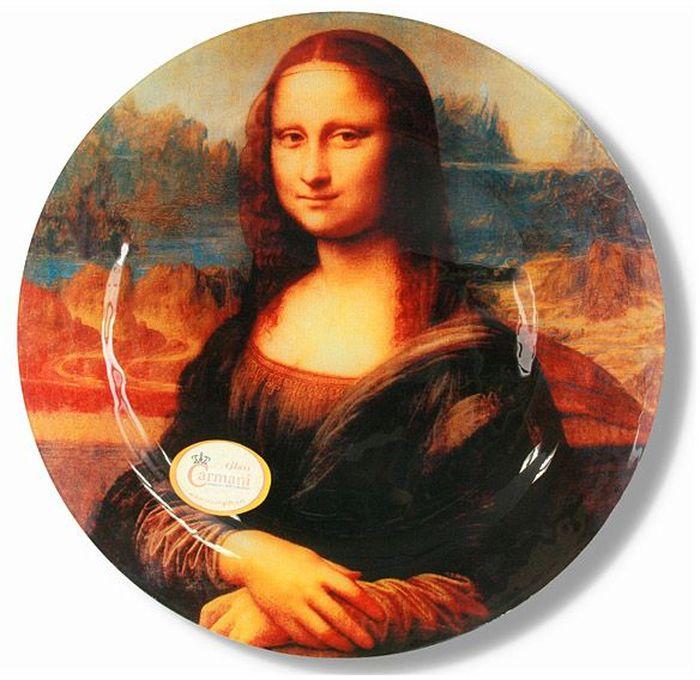 Тарелка Carmani Джоконда (Л. Да Винчи), 30 см. CAR198-5302-ALCAR198-5302-ALТарелка 30 см Джоконда (Л. Да Винчи) Торговая марка Carmani (Польша) известна с XIX века. Основатель марки, Престон Кармани, принадлежал к высшему свету Европы, известному своими прогрессивными идеями и тягой к искусству. Конкурентными преимуществами марки Carmani является высокое качество продукции и неповторимый дизайн. Процесс разработки нового предмета представляет собой сочетание традиционных методов и современных компьютерных технологий. Следует отметить, что каждая серия кружек Carmani имеет яркую индивидуальность, оригинальный дизайн и отражает разные темы, связанные с развитием и культурой человечества. Стеклянные тарелки и карманные зеркала с изображением прекрасных дам с полотен известных художников, выпускаются ограниченным тиражом и имеют коллекционную ценность.