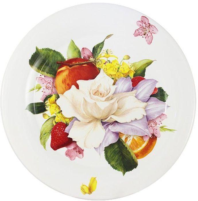 Тарелка обеденная Ceramiche Viva Фреско, 29 см. CV2-T01-07048-ALCV2-T01-07048-ALТарелка обеденная 29смФреско Керамическая посуда итальянской фабрики Ceramiche Viva известна не только своим превосходным качеством, но и удивительными, неповторимыми дизайнами, отличающими ее от любой другой керамической посуды. Невозможно относиться к изделиям Ceramiche Viva как к обычной посуде. Приобретя любую вещь из ассортимента Ceramiche Viva, вы украсите свой дом, доставите радость родным и близким, и ваш обычный ужин превратится в праздничный. Помимо внешней привлекательности посуда Ceramiche Viva обладает и прекрасными практическими свойствами: посуду Ceramiche Viva можно мыть в посудомоечной машине и использовать в микроволновой печи. Не разрешается применять при мытье посуды абразивные порошки. Поверхность изделий покрыта высококачественной глазурью, не содержащей свинца.