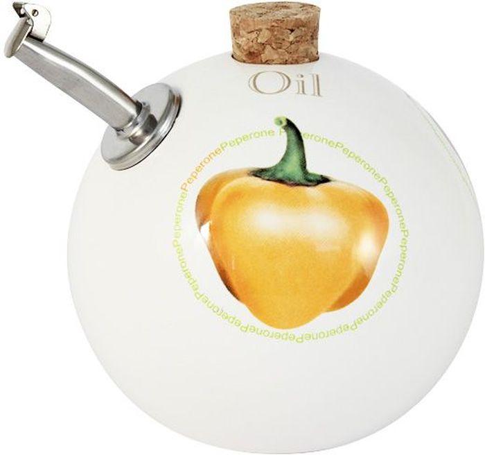 Бутылка для масла Ceramiche Viva Томаты и перцы, 0,4 л. CV2-T09-06021-ALCV2-T09-06021-ALБутылка для масла (круглая) 0.4л Томаты и перцы Керамическая посуда итальянской фабрики Ceramiche Viva известна не только своим превосходным качеством, но и удивительными, неповторимыми дизайнами, отличающими ее от любой другой керамической посуды. Невозможно относиться к изделиям Ceramiche Viva как к обычной посуде. Приобретя любую вещь из ассортимента Ceramiche Viva, вы украсите свой дом, доставите радость родным и близким, и ваш обычный ужин превратится в праздничный. Помимо внешней привлекательности посуда Ceramiche Viva обладает и прекрасными практическими свойствами: посуду Ceramiche Viva можно мыть в посудомоечной машине и использовать в микроволновой печи. Не разрешается применять при мытье посуды абразивные порошки. Поверхность изделий покрыта высококачественной глазурью, не содержащей свинца.