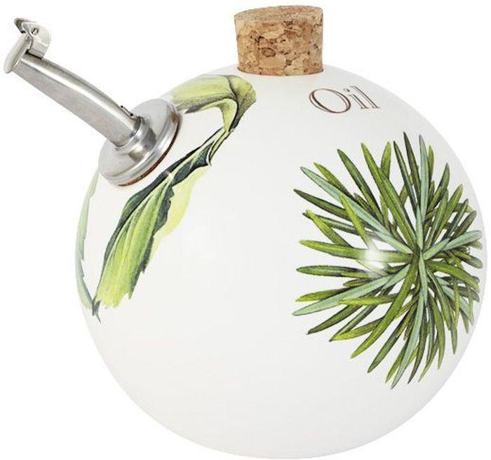 Бутылка для масла Ceramiche Viva Розмарин и сельдерей, 0,4 л. CV2-T09-06023-ALCV2-T09-06023-ALБутылка для масла (круглая) 0.4л Розмарин и сельдерей Керамическая посуда итальянской фабрики Ceramiche Viva известна не только своим превосходным качеством, но и удивительными, неповторимыми дизайнами, отличающими ее от любой другой керамической посуды. Невозможно относиться к изделиям Ceramiche Viva как к обычной посуде. Приобретя любую вещь из ассортимента Ceramiche Viva, вы украсите свой дом, доставите радость родным и близким, и ваш обычный ужин превратится в праздничный. Помимо внешней привлекательности посуда Ceramiche Viva обладает и прекрасными практическими свойствами: посуду Ceramiche Viva можно мыть в посудомоечной машине и использовать в микроволновой печи. Не разрешается применять при мытье посуды абразивные порошки. Поверхность изделий покрыта высококачественной глазурью, не содержащей свинца.