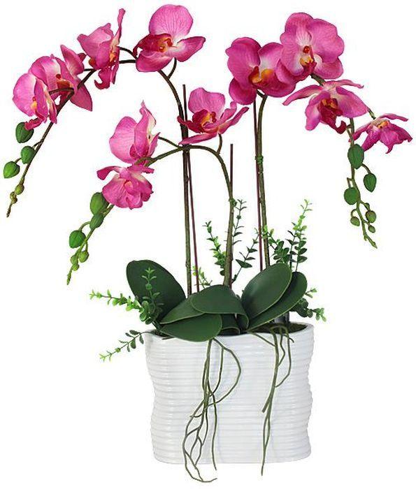 Декоративные цветы Dream Garden Орхидея тем розовая, в вазе, 19,х8х46см. DG-15018-N-ALDG-15018-N-ALДекор.цветы Орхидея тем розовая в керам вазе 19.х8х46см Торговая марка Dream Garden, Китай. Композиции из искусственных цветов долговечны, не требуют ежедневного ухода, выполнены из натуральных шелка и текстиля, прошедших специальную обработку высококачественными современными материалами. Искусственные цветы максимально приближены к натуральным, не пахнут, что исключает все аллергические реакции.