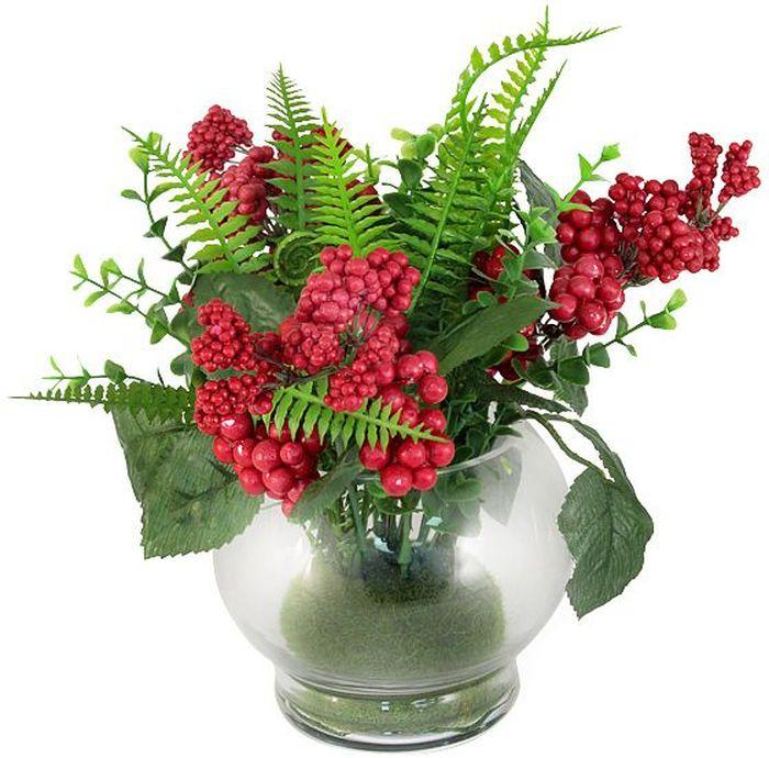 Цветы декоративные Dream Garden Букет, в вазе, 22 х 22 х 23 смDG-S16004-ALКомпозиции из искусственных цветов Dream Garden, выполненные из высококачественных материалов, долговечны и не требуют ежедневного ухода. Искусственные цветы максимально приближены к натуральным, не пахнут, что исключает все аллергические реакции.