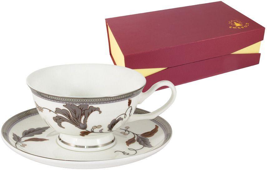 Набор чайный Emerald Серебряный лист, 12 предметов. E5-12-76P/12-ALE5-12-76P/12-ALНабор 12 предметов Серебряный лист : 6 чашек 0.2л + 6 блюдец Чайная и обеденная столовая посуда торговой марки Emerald произведена из высококачественного костяного фарфора. Благодаря высокому качеству исполнения, разнообразным декорам и оптимальному соотношению цена – качество, посуда Emerald завоевала огромную популярность у покупателей и пользуется неизменно высоким спросом. Изделия Emerald представлены как в виде обеденных и чайных сервизов на 6 и 12 персон. Поверхность изделий покрыта превосходной сверкающей глазурью, не содержащей свинца.
