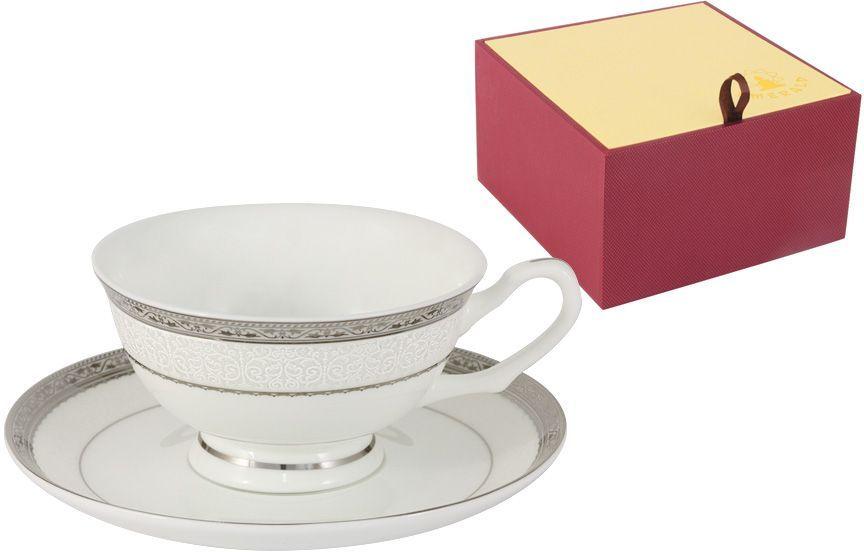 Чашка с блюдцем Emerald Бостон, 0,2 л. E5-16-908/CS-ALE5-16-908/CS-ALЧашка с блюдцем 0.2л Бостон Чайная и обеденная столовая посуда торговой марки Emerald произведена из высококачественного костяного фарфора. Благодаря высокому качеству исполнения, разнообразным декорам и оптимальному соотношению цена – качество, посуда Emerald завоевала огромную популярность у покупателей и пользуется неизменно высоким спросом. Изделия Emerald представлены как в виде обеденных и чайных сервизов на 6 и 12 персон. Поверхность изделий покрыта превосходной сверкающей глазурью, не содержащей свинца.
