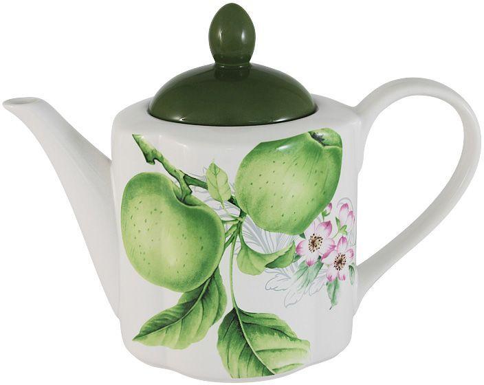 Чайник Imari Зеленые яблоки, 1,0 л. IM15018A/1-A2211ALIM15018A/1-A2211ALЧайник 1,0л Зеленые яблоки IMARI производит широкий ассортимент посуды из высококачественной керамики, основным ингредиентом которой является твердый доломит, поэтому все керамические изделия IMARI - легкие, белоснежные, прочные и устойчивы к высоким температурам. Высокое качество изделий достигается не только благодаря использованию особого сырья и новейших технологий и оборудования при изготовлении посуды, но также благодаря строгому контролю на всех этапах производственного процесса на фабрике в Китае. Нанесение сверкающей глазури, не содержащей свинца, придает изделиям IMARI превосходный блеск и особую прочность. Высокое качество исходного сырья и глазури позволяют мыть изделия IMARI в посудомоечных машинах.