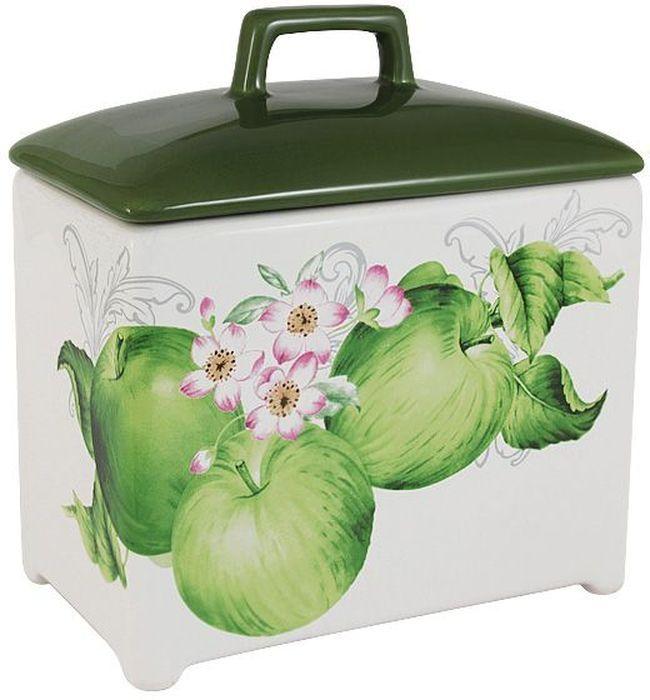 Банка для сыпучих продуктов Imari Зеленые яблоки, 18см. IM55060/1-A2211ALIM55060/1-A2211ALБанка для сыпучих продуктов 18см Зеленые яблоки IMARI производит широкий ассортимент посуды из высококачественной керамики, основным ингредиентом которой является твердый доломит, поэтому все керамические изделия IMARI - легкие, белоснежные, прочные и устойчивы к высоким температурам. Высокое качество изделий достигается не только благодаря использованию особого сырья и новейших технологий и оборудования при изготовлении посуды, но также благодаря строгому контролю на всех этапах производственного процесса на фабрике в Китае. Нанесение сверкающей глазури, не содержащей свинца, придает изделиям IMARI превосходный блеск и особую прочность. Высокое качество исходного сырья и глазури позволяют мыть изделия IMARI в посудомоечных машинах.
