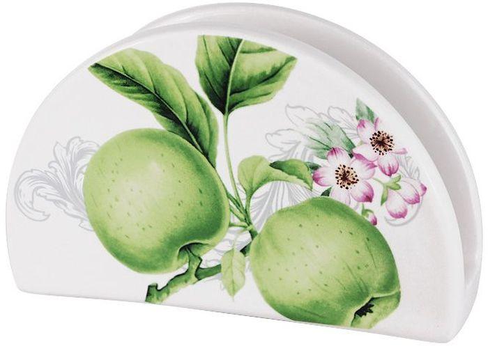 Салфетница Imari Зеленые яблоки, 16 см. IM65080-A2211ALIM65080-A2211ALСалфетница 16см Зеленые яблоки IMARI производит широкий ассортимент посуды из высококачественной керамики, основным ингредиентом которой является твердый доломит, поэтому все керамические изделия IMARI - легкие, белоснежные, прочные и устойчивы к высоким температурам. Высокое качество изделий достигается не только благодаря использованию особого сырья и новейших технологий и оборудования при изготовлении посуды, но также благодаря строгому контролю на всех этапах производственного процесса на фабрике в Китае. Нанесение сверкающей глазури, не содержащей свинца, придает изделиям IMARI превосходный блеск и особую прочность. Высокое качество исходного сырья и глазури позволяют мыть изделия IMARI в посудомоечных машинах.