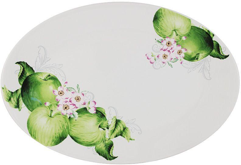 Блюдо Imari Зеленые яблоки, овальное, 38х26 см. IMC1185-A2211ALIMC1185-A2211ALБлюдо овальное 38х26см Зеленые яблоки IMARI производит широкий ассортимент посуды из высококачественной керамики, основным ингредиентом которой является твердый доломит, поэтому все керамические изделия IMARI - легкие, белоснежные, прочные и устойчивы к высоким температурам. Высокое качество изделий достигается не только благодаря использованию особого сырья и новейших технологий и оборудования при изготовлении посуды, но также благодаря строгому контролю на всех этапах производственного процесса на фабрике в Китае. Нанесение сверкающей глазури, не содержащей свинца, придает изделиям IMARI превосходный блеск и особую прочность. Высокое качество исходного сырья и глазури позволяют мыть изделия IMARI в посудомоечных машинах.