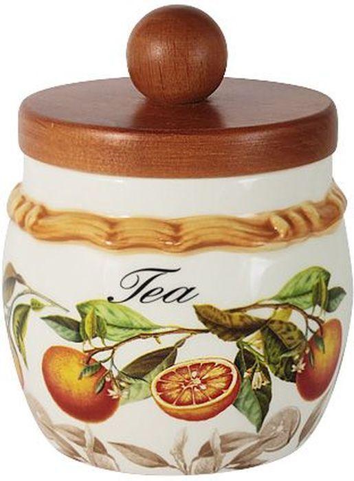 Банка для чая LCS Апельсины, с деревянной крышкой, 0,5 л. LCS010/PLT-AR-ALLCS010/PLT-AR-ALБанка для сыпучих продуктов с деревянной крышкой 0,5 л (чай) Апельсины LCS - молодая, динамично развивающаяся итальянская компания из Флоренции, производящая разнообразную керамическую посуду и изделия для украшения интерьера. В своих дизайнах LCS использует как классические, так и современные тенденции. Высокий стандарт изделий обеспечивается за счет соединения высоко технологичного производства и использования ручной работы профессиональных дизайнеров и художников, работающих на фабрике.