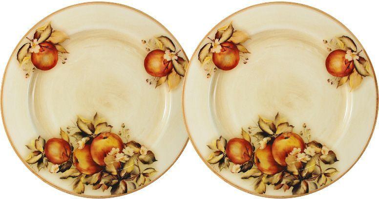 Тарелка десертная LCS Зимние яблоки, 20,5 см, 2 шт. LCS353/2/PF-M-ALLCS353/2/PF-M-ALНабор из 2-х десертных тарелок 20,5 см Зимние яблоки LCS - молодая, динамично развивающаяся итальянская компания из Флоренции, производящая разнообразную керамическую посуду и изделия для украшения интерьера. В своих дизайнах LCS использует как классические, так и современные тенденции. Высокий стандарт изделий обеспечивается за счет соединения высоко технологичного производства и использования ручной работы профессиональных дизайнеров и художников, работающих на фабрике.