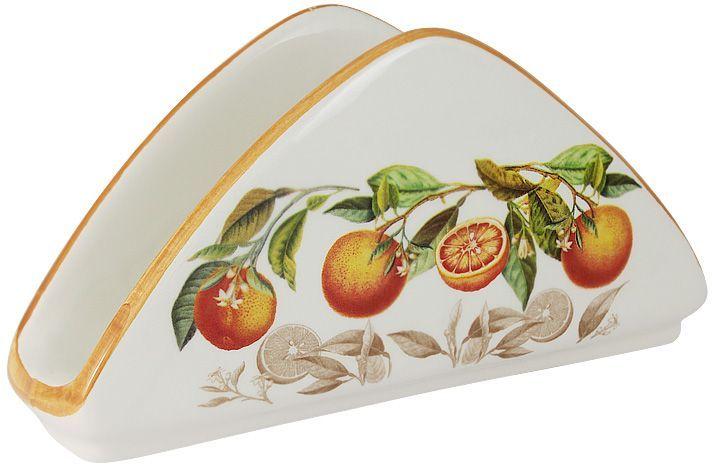 Салфетница LCS Апельсины, 21х5 см. LCS996-AR-ALLCS996-AR-ALСалфетница 21х5 см Апельсины LCS - молодая, динамично развивающаяся итальянская компания из Флоренции, производящая разнообразную керамическую посуду и изделия для украшения интерьера. В своих дизайнах LCS использует как классические, так и современные тенденции. Высокий стандарт изделий обеспечивается за счет соединения высоко технологичного производства и использования ручной работы профессиональных дизайнеров и художников, работающих на фабрике.