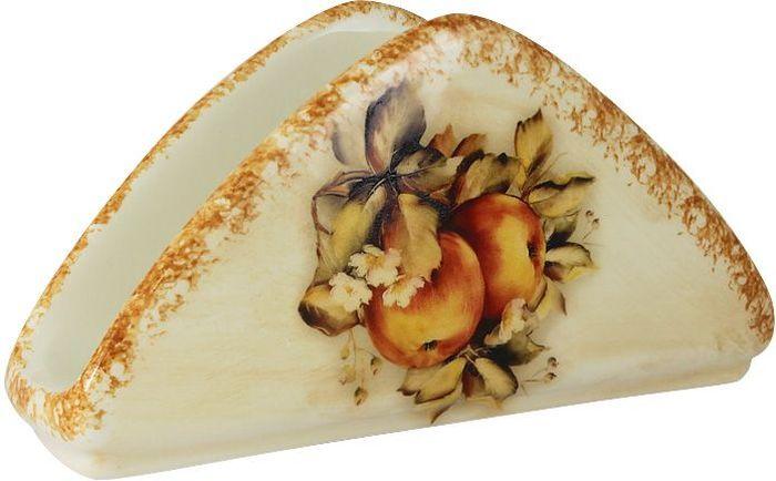 Салфетница LCS Зимние яблокиLCS996-M-ALСалфетница LCS Зимние яблоки, изготовленная из высококачественной глазурованной керамики, оформлена ярким рисунком. Красочность оформления придется по вкусу ценителям классики. Салфетница оригинального дизайна изящно украсит кухонный стол и подчеркнет ваш прекрасный вкус.