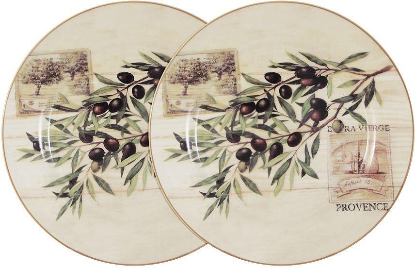 Набор обеденных тарелок LF Ceramic Оливки, диаметр 25 см, 2 штLF-120E2257-O-ALНабор LF Ceramic Оливки состоит из двух обеденных тарелок, изготовленных из высококачественной керамики. Яркий дизайн изделий, несомненно, придется вам по вкусу. Набор LF Ceramic Оливки украсит ваш кухонный стол, а также станет замечательным подарком к любому празднику. Диаметр тарелки: 25 см.