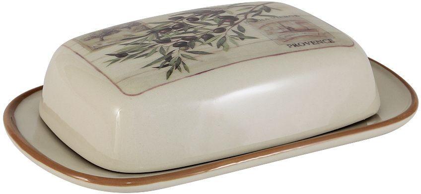 Масленка LF Ceramic ОливкиLF-195F9486-ALВеликолепная масленка LF Ceramic Оливки, выполненная из высококачественной керамики, предназначена для красивой сервировки и хранения масла. Она состоит из подноса и крышки. Масло в ней долго остается свежим, а при хранении в холодильнике не впитывает посторонние запахи. Масленка LF Ceramic Оливки идеально подойдет для сервировки стола и станет отличным подарком к любому празднику. Размер масленки: 18,5 х 12 см.