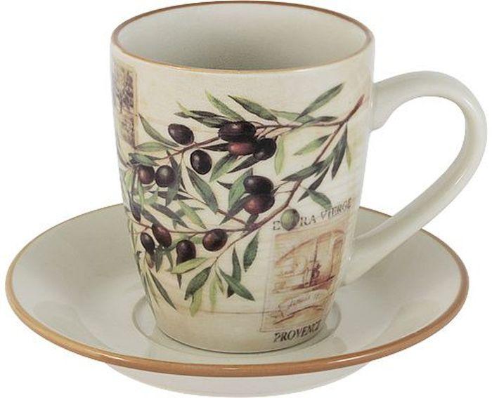 Чайная пара LF Ceramic Оливки. 2 предметаLF-520F9469-1-ALЧайная пара LF Ceramic Оливки состоит из чашки и блюдца, изготовленных из высококачественной глазурованной керамики. Яркий дизайн изделий, несомненно, придется вам по вкусу. Чайная пара LF Ceramic Оливки украсит ваш кухонный стол, а также станет замечательным подарком к любому празднику. Объем чашки: 200 мл.