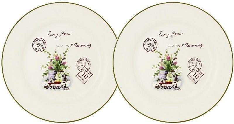 Набор десертных тарелок LF Ceramic Букет, диаметр 20 см, 2 штLF-55E2258-3-ALНабор LF Ceramic Букет состоит из двух десертных тарелок, изготовленных из высококачественной керамики. Яркий дизайн изделий, несомненно, придется вам по вкусу. Набор LF Ceramic Букет украсит ваш кухонный стол, а также станет замечательным подарком к любому празднику. Диаметр тарелки: 20 см.