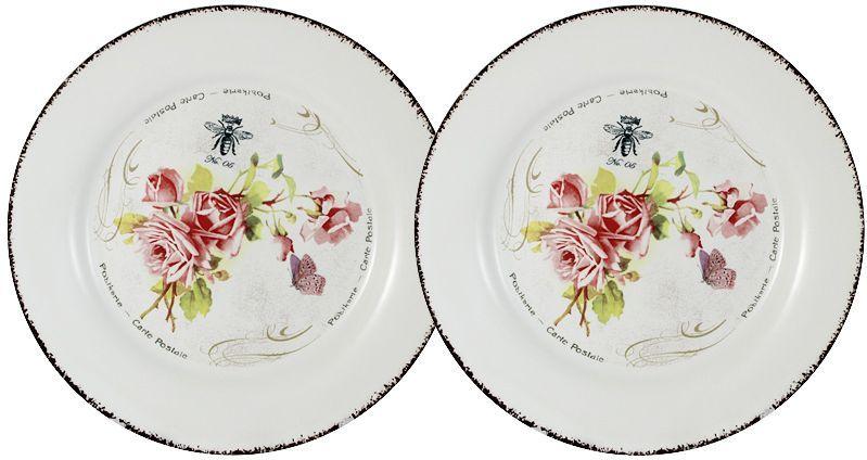 Набор десертных тарелок LF Ceramic Розы, диаметр 20 см, 2 штLF-55E2258-4-ALНабор LF Ceramic Розы состоит из двух десертных тарелок. Изделия выполнены из экологически чистой керамики, отличительной особенностью которой является прочность. Нанесение сверкающей глазури, не содержащей свинца, придает посуде превосходный блеск и особую прочность. Изделия украшены цветочным рисунком. Такой набор отлично подойдет для сервировки стола как для торжественных случаев, так и для обычного обеда. Набор изысканно дополнит сервировку стола и подчеркнет ваш прекрасный вкус. Можно использовать в микроволновой печи и мыть в посудомоечной машине.