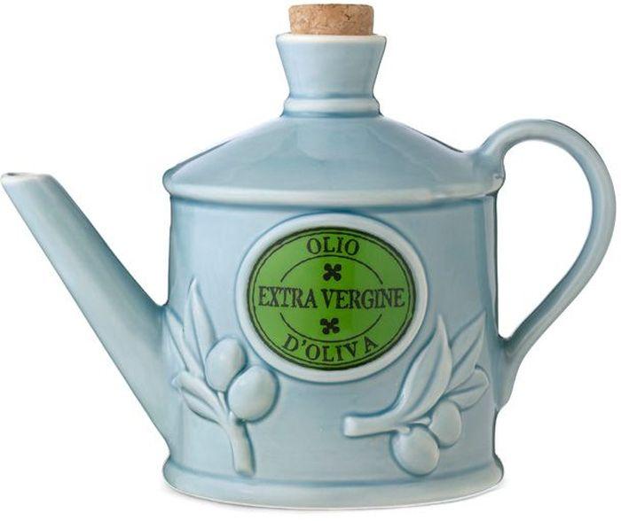Бутылка для масла Nuova Cer, цвет: голубой, 0,7 л. NC9200-CRZ-ALNC9200-CRZ-ALБутылка для масла 0.7л (голубая) Компания Nuova Сer была основана в 1992 году по инициативе итальянского дизайнера Cav. Primo Cerbella. Фабрика расположена в Умбритиде - маленькой деревне в зеленом центре Италии - Умбрии. Декорам торговой марки Nuova Сer присущи тёплые оттенки и верность истинно итальянскому стилю, для которого характерным является довольно толстая, нарочито простая керамическая посуда с красочной, яркой глазурью, с наивной росписью и орнаментами. Ее с легкостью можно подобрать в тон интерьеру кухни. Такую посуду можно использовать в микроволновой печи и мыть в посудомоечной машине.