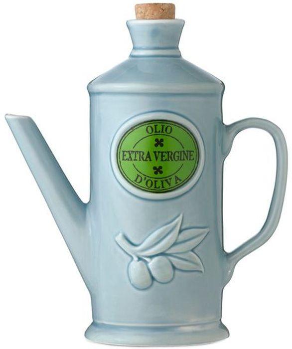Бутылка для масла Nuova Cer, цвет: голубой, 0,65 л. NC9202-CRZ-ALNC9202-CRZ-ALБутылка для масла 0.65л (голубая) Компания Nuova Сer была основана в 1992 году по инициативе итальянского дизайнера Cav. Primo Cerbella. Фабрика расположена в Умбритиде - маленькой деревне в зеленом центре Италии - Умбрии. Декорам торговой марки Nuova Сer присущи тёплые оттенки и верность истинно итальянскому стилю, для которого характерным является довольно толстая, нарочито простая керамическая посуда с красочной, яркой глазурью, с наивной росписью и орнаментами. Ее с легкостью можно подобрать в тон интерьеру кухни. Такую посуду можно использовать в микроволновой печи и мыть в посудомоечной машине.