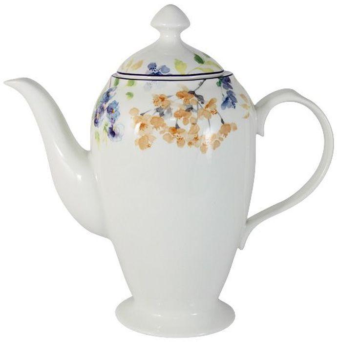Чайник Primavera Fine Bone China Акварель, 1,4 л. PWW-150248-11ALPWW-150248-11ALЧайник 1.4л Акварель Обеденные и чайные сервизы торговой марки Primavera изготовлены из фарфора с добавлением костной золы (7-15%), благодаря которой фарфор получается прозрачным и прочным. Посуда подходит для ежедневного инспользования, благодаря отсутствию серебряной и золотой отделки посуду можно мыть в посудомоечной машине, а также использовать в микроволновой печи.