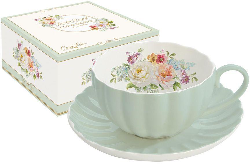 Чашка с блюдцем Nuova R2S Королевский сад, 0,2 л. R2S1282/ROYG-ALR2S1282/ROYG-ALЧашка с блюдцем 0.2л Королевский сад (зелен) Концепция выпускаемой продукции заключается в создании единой дизайнерской линии предметов сервировки стола, оформления интерьера кухни или столовой комнаты. Вся продукция производится из современных и экологически чистых материалов: фарфора, стекла, пластика и дерева. Продукция компании NUOVA R2S отличается современным дизайном, и легкостью в эксплуатации. Компания работает в тесном сотрудничестве с лучшими итальянскими художниками и дизайнерами.