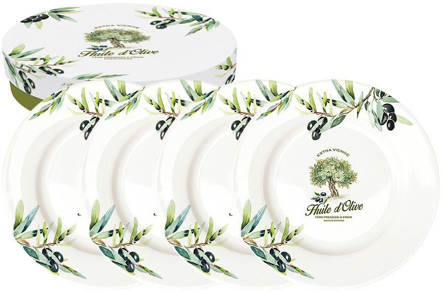Набор десертных тарелок Nuova R2S Прованс, диаметр 19 см, 4 штR2S463/PROV-ALНабор Nuova R2S Прованс состоит из четырех десертных тарелок, выполненных из высококачественного фарфора. Изделия декорированы ярким рисунком и имеют круглую форму. Такой набор изящно украсит сервировку стола и порадует вас изящным дизайном.