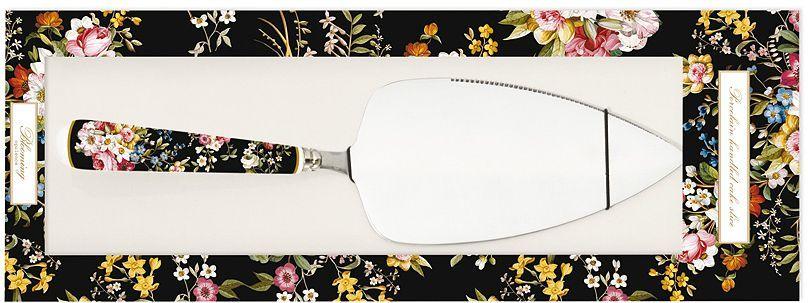 Лопатка для торта Nuova R2S Цветочный карнавал, цвет: черный, 26 см. R2S967/BLOB-ALR2S967/BLOB-ALЛопатка для торта 26см Цветочный карнавал (чёрн) Концепция выпускаемой продукции заключается в создании единой дизайнерской линии предметов сервировки стола, оформления интерьера кухни или столовой комнаты. Вся продукция производится из современных и экологически чистых материалов: фарфора, стекла, пластика и дерева. Продукция компании NUOVA R2S отличается современным дизайном, и легкостью в эксплуатации. Компания работает в тесном сотрудничестве с лучшими итальянскими художниками и дизайнерами.