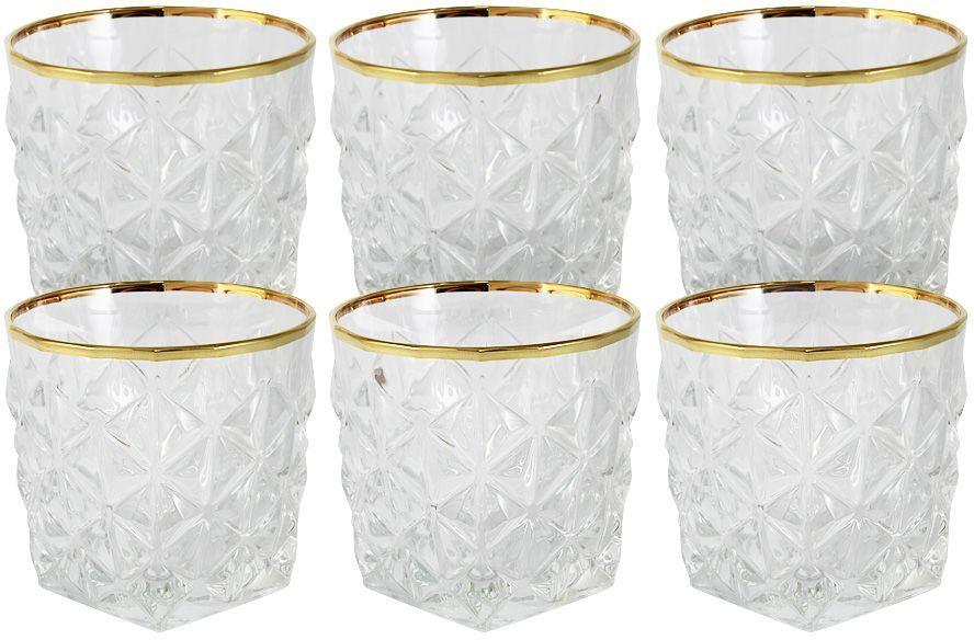 Набор стаканов для воды Same Decorazione Энигма, 0,3 л, 6 шт. SM3859/1-ALSM3859/1-ALНабор: 6 стаканов для виски 0.3л Энигма Хрустальные изделия из Италии от компании Same Decorazione — это маленькие шедевры, о которых знает уже немалая часть Европы. Выполненные из высокосортного хрусталя (24% PbO ), все изделия выделяются своим изяществом и блеском. А элегантная форма подчеркивается нежными изысканными рисунками, декорированными 24-каратным золотом и платиной. Хрустальные изделия Same Decorazione отличаются чистым, неискажённым преломлением света, прозрачностью и красотой граненых поверхностей. Золотая и платиновая отделка безопасна для использования