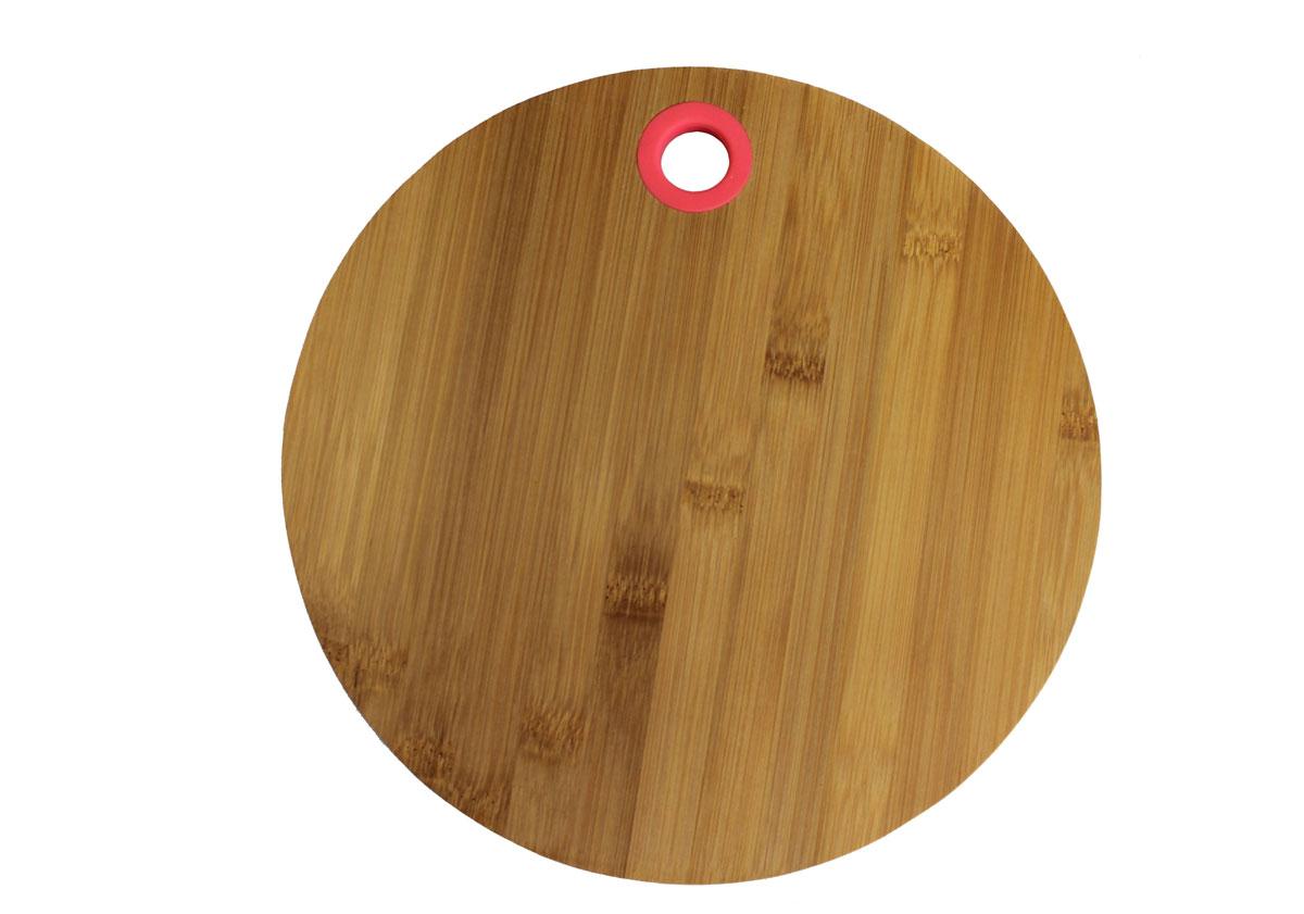 Доска разделочная Vetta, 25 см х 25 см851145Разделочная доска Vetta Гринвуд, изготовленная из бамбука, прекрасно подходит для разделки и измельчения всех видов продуктов.