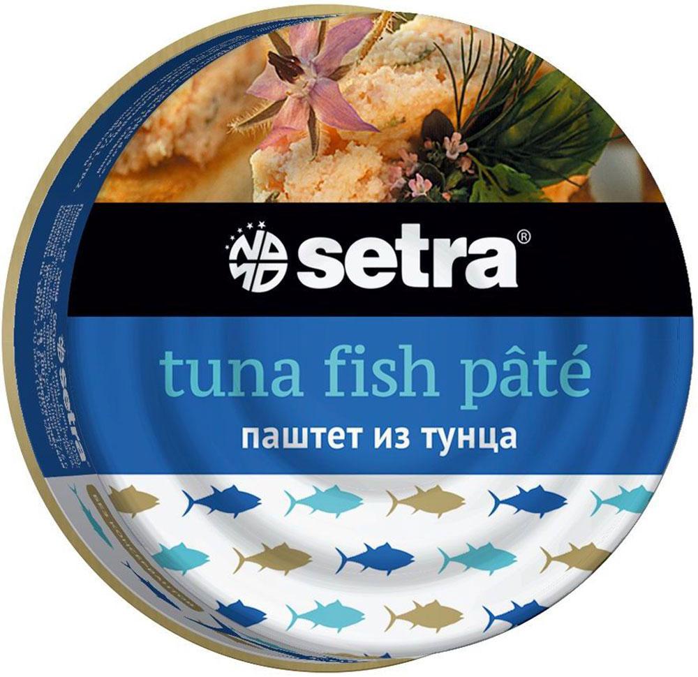 Setra паштет из тунца, 80 ггое007Паштет из тунца Setra - это вкусный, удобный в использовании и очень полезный продукт, обладающий высокой питательной ценностью. Он является богатым источником протеинов и минералов. Изготовленный из качественных кусочков рыбы, оливкового масла и натуральных специй, он может использоваться ежедневно на бутерброды или в качестве универсального ингредиента, а также начинки для разнообразных блюд. Продукт обладает гладкой и нежной текстурой.