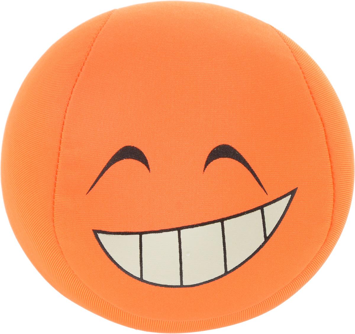 Игрушка-антистресс Home Queen Смайлик, цвет: оранжевый, диаметр 10 см70062_оранжевыйИгрушка-антистресс Home Queen Смайлик способна стать аккумулятором хорошего настроения. Игрушка выполнена из трикотажной ткани в виде веселого смайлика, внутри - наполнитель из полистирола. Игрушка легкая, упругая, как бы вы ее ни сжимали, она неизменно возвращает себе первоначальную форму. Тысячи мельчайших гранул полистирола создают поистине волшебный релаксирующий эффект. Такая игрушка - идеальный рецепт хорошего настроения! Она подходит абсолютно всем, поскольку не вызывает аллергии.