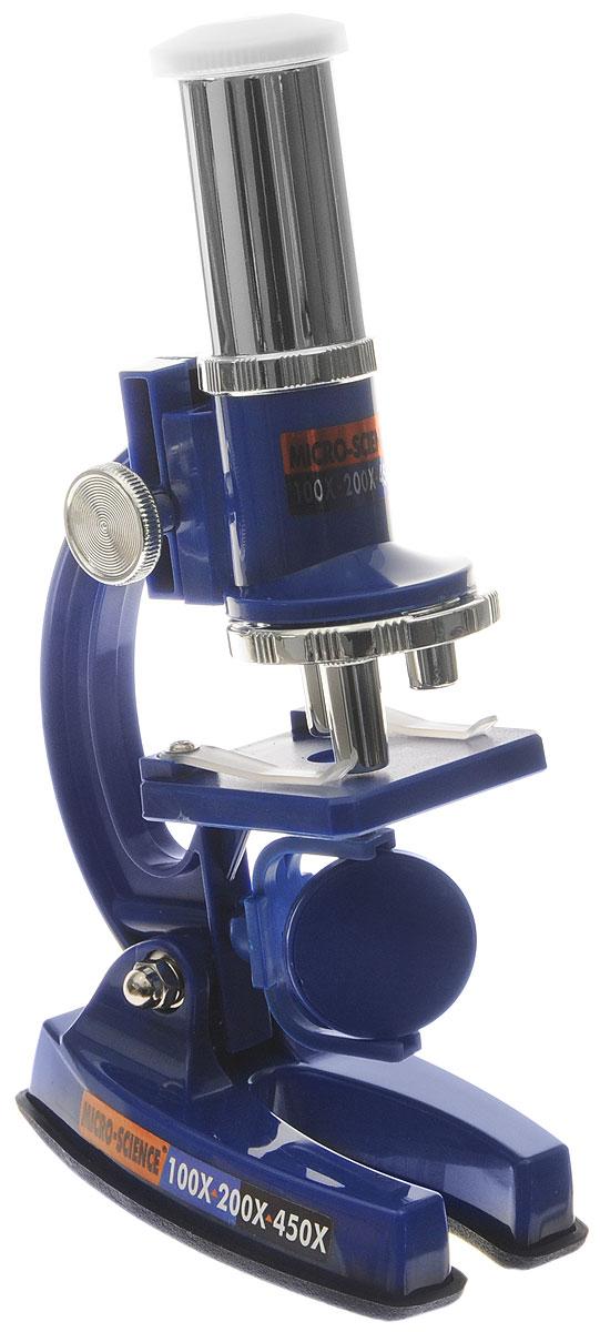 Eastcolight Набор для исследований Микроскоп 23 предмета2135Набор для исследований Микроскоп - чудесный подарок для ребенка, интересующегося наукой и устройством мира. Этот микроскоп имеет профессиональную асферическую линзу для максимально четкого изображения, широкоугольный окуляр для лучшего обзора, быстрый и точный механизм фокусировки и прочную металлическую стойку, обеспечивающую микроскопу долговечность. Полный набор аксессуаров позволит заглянуть в каждую клеточку выбранного для изучения предмета. Микроскоп увеличивает предмет в 100х, 200х и 450х. В набор входят: микроскоп, 5 покровных стекол, 10 чистых стикеров, 4 чистых предметных стекла, 1 предметное стекло с препаратами, 2 контейнера для образцов, инструкция на русском языке. Этот набор поможет вашему ребенку сделать первый шаг на пути к удивительному миру науки!