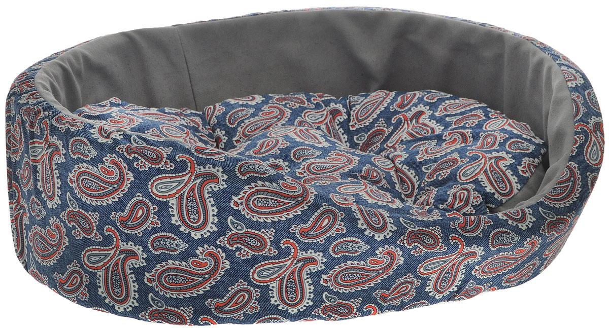 Лежак для животных Happy Puppy Русские сказки, цвет: синий, красный, голубой, 50 x 44 x 16 смHP-150060-2Лежак Happy Puppy Русские сказки, прекрасно подойдет для отдыха вашего домашнего питомца. Предназначен для кошек, а так же собак мелких пород. Изделие выполнено из прочной ткани. Снабжено высокими широкими бортиками и съемной мягкой подушкой. Комфортный и уютный лежак обязательно понравится вашему питомцу, животное сможет там отдохнуть и выспаться. Размер лежака: 50 х 44 х 16 см. Состав: хлопок, эластан. Наполнитель: поролон, холлофайбер.