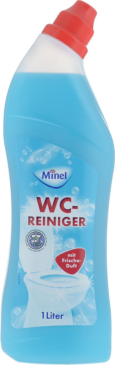 Средство для чистки унитаза Minel WC-Reiniger, 1 л803780Чистящее средство Minel WC-Reiniger обеспечивает легкий и эффективный уход за унитазом. Особенности Minel WC-Reiniger: - эффективное и экономичное средство для чистки унитаза от известкового налета, - идеальная чистота и полная дезинфекция, - отлично очищает слив от известкового налета, - гигиена и свежесть для туалета, - подходит для ежедневного применения. Товар сертифицирован.