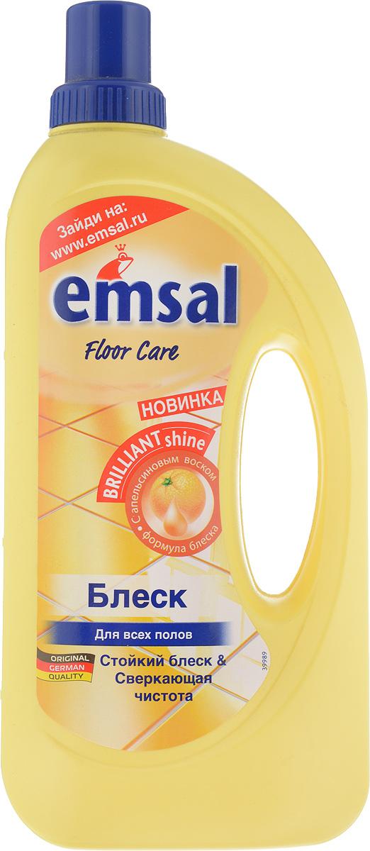 Средство для придания блеска полу Emsal, с апельсиновым воском, 1 л706389Средство Emsal с ухаживающим составом и апельсиновым воском предназначено для придания идеального блеска полу. Оно обеспечивает чистоту и блеск без разводов. Придает поверхности стойкий блеск без дополнительной полировки и обеспечивает стойкую защиту от следов каблуков, царапин и повторного загрязнения. Свежий стойкий апельсиновый аромат. Подходит для применения на всех водоустойчивых полах. Товар сертифицирован.
