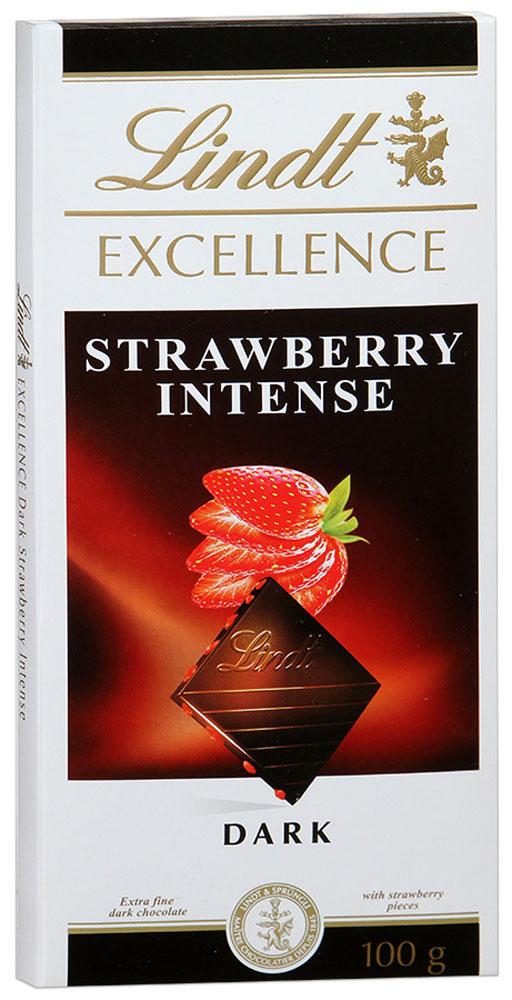Lindt Excellence темный шоколад с кусочками клубники, 100 г3046920027458Excellence - насыщенный темный шоколад с кусочками клубники. Наслаждаясь бархатистой нежностью шоколада, вы почувствуете как изысканный и богатый вкус лакомства расцветает тонами ароматной и сочной ягоды. Испытайте момент истинного удовольствия, который напомнит вам лучшие дни яркого солнечного лета! Уважаемые клиенты! Обращаем ваше внимание, что полный перечень состава продукта представлен на дополнительном изображении.