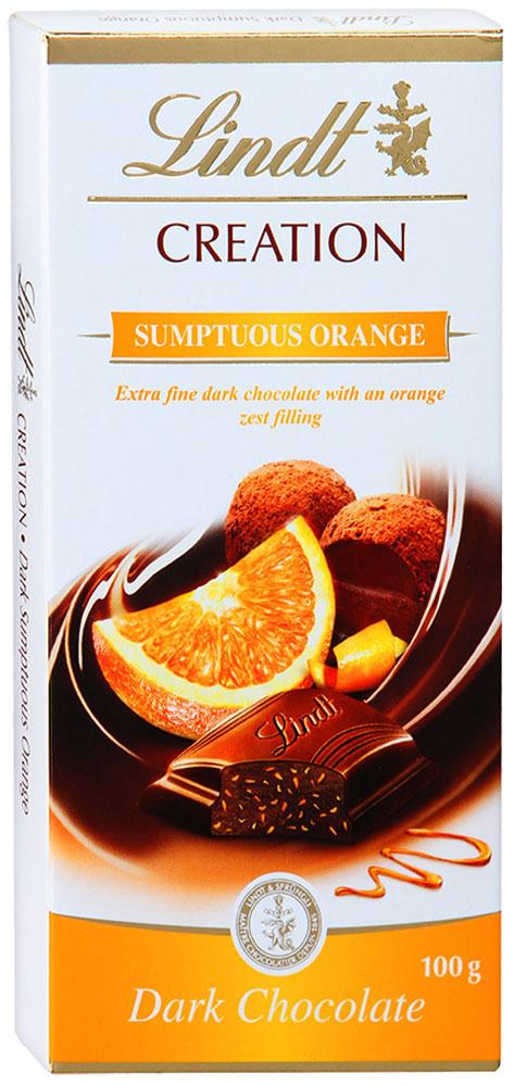 Lindt Creation темный шоколад с начинкой из темного шоколадного мусса и апельсина, 100 г3046920022569Настоящий темный шоколад дополнен кусочками апельсина. Благородное сочетание терпкого какао и цитрусовых нот дарит неповторимое удовольствие. Этот шоколад, нежный и тающий во рту, будет уместен как во время чаепития, так и к аперитиву. Кроме того, плитка этого шоколада может стать приятным подарком для важного вам человека. Уважаемые клиенты! Обращаем ваше внимание, что полный перечень состава продукта представлен на дополнительном изображении.