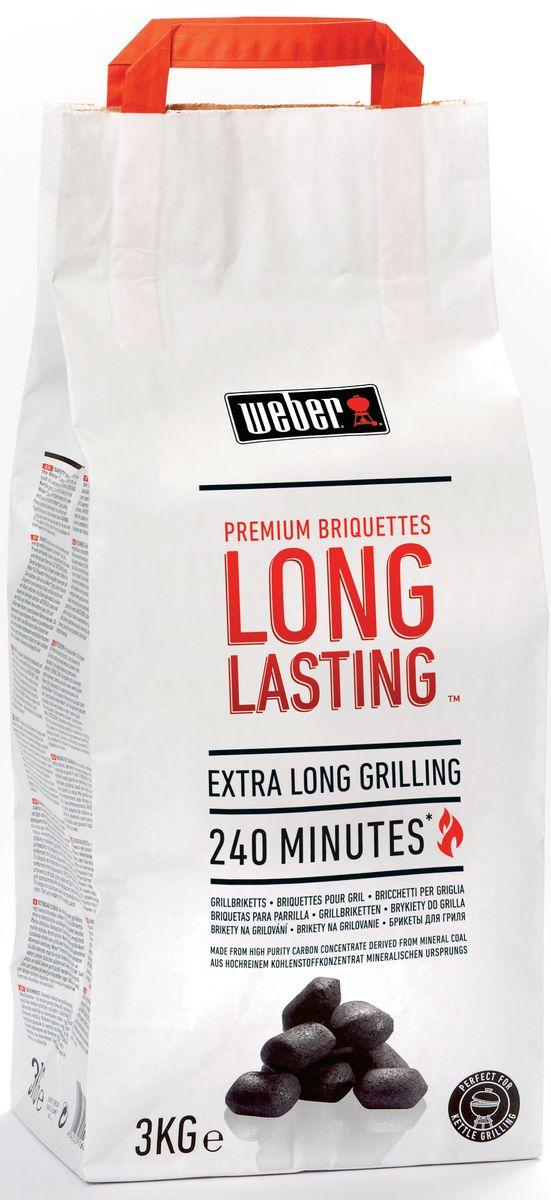 Угольные брикеты Weber Long Lasting, 3 кг16034
